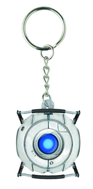 Portal Molded Keychain - Wheatley