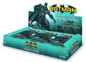 DC Comics Batman The Legend Trading Cards Box