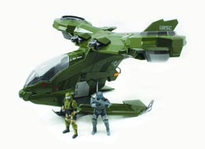 Halo 4 Die-Cast Hornet With 2-Inch Figures
