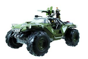 Halo 4 Die-Cast Warthog With 2-Inch Figures