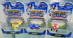 Sonic & Sega All-Stars Racing Die-Cast Assortment Case