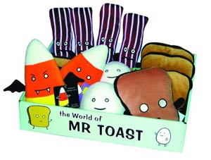 Mr Toast Plush 14-Piece Display