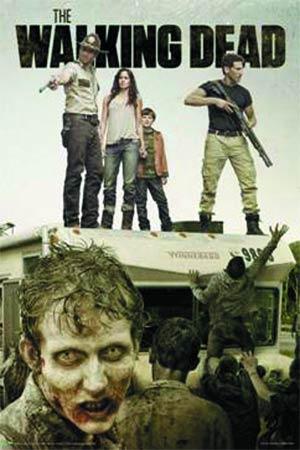 Walking Dead Season 2 Attack The RV Poster (3134)