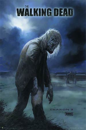 Walking Dead Season 3 Zombie Poster (3132)