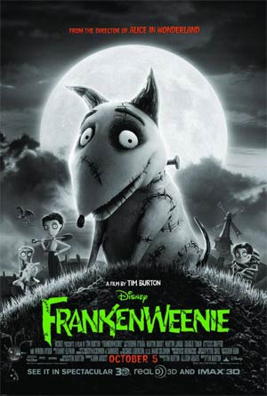 Frankenweenie Blu-ray Combo DVD