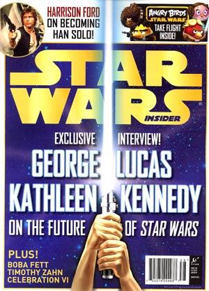 Star Wars Insider #138 Jan / Feb 2013 Newsstand Edition