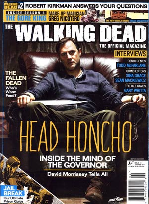 Walking Dead The Official Magazine #2 Newsstand Edition