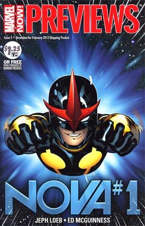 Marvel Previews Vol 2 #5 December 2012