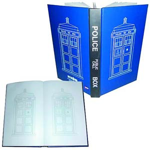 Doctor Who Journal - TARDIS Police Call Box