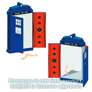 Doctor Who Journal - TARDIS-Shaped