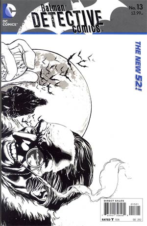 Detective Comics Vol 2 #13 Incentive Jason Fabok Sketch Cover