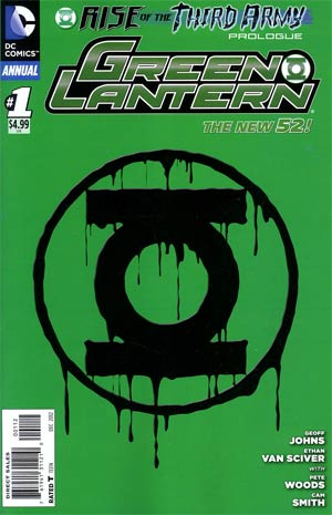 Green Lantern Vol 5 Annual #1 2nd Ptg