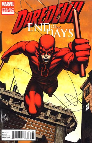 Daredevil End Of Days #1 Incentive Dale Keown Variant Cover