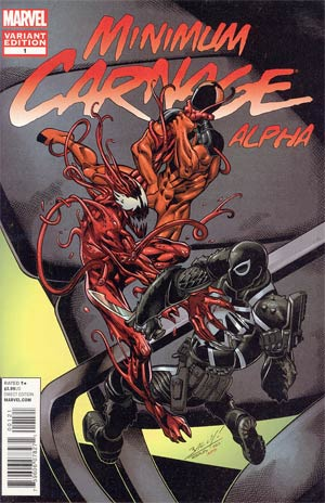 Minimum Carnage Alpha #1 Incentive Mark Bagley Variant Cover (Minimum Carnage Part 1)
