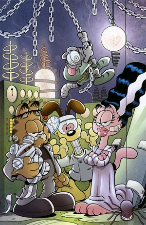 Garfield #6 Incentive Gary Barker Halloween Virgin Variant Cover