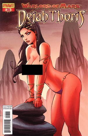 Warlord Of Mars Dejah Thoris #16 Incentive Pow Rodrix Risque Variant Cover