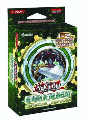 Yu-Gi-Oh Return Of The Duelist Special Edition Booster Pack