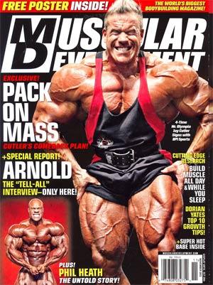 Muscular Development Magazine Vol 49 #11 Nov 2012