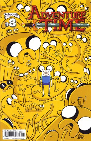 Adventure Time #8 Cover A Regular Chris Houghton Cover