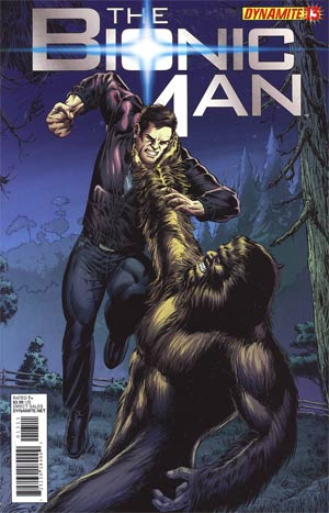 Bionic Man #13 Regular Ed Tadeo Cover