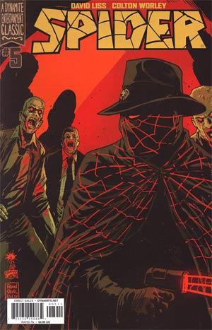 Spider #5 Regular Francesco Francavilla Cover
