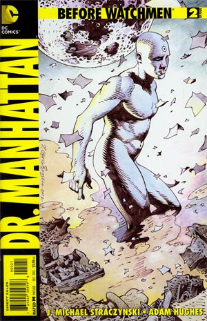 Before Watchmen Dr Manhattan #2 Incentive P Craig Russell Variant Cover