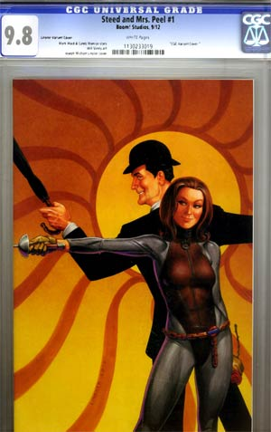 Steed And Mrs Peel Vol 2 #1 Incentive Joseph Michael Linsner Virgin Variant Cover CGC 9.8