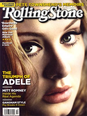 Rolling Stone #1167 Oct 11 2012