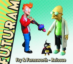 Futurama Encore Collection Series 2 Professor Farnsworth Action Figure