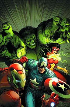 Avengers Assemble By Steve McNiven Poster
