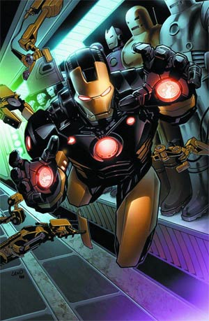 Iron Man By Greg Land Poster