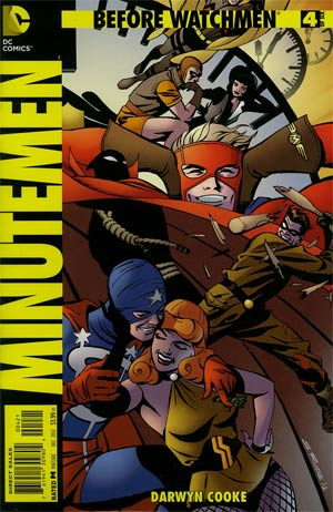 Before Watchmen Minutemen #4 Incentive Steve Rude Variant Cover