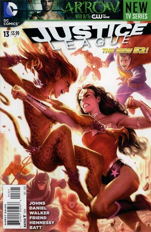 Justice League Vol 2 #13 Variant Cameron Stewart Cover