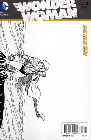 Wonder Woman Vol 4 #13 Incentive Cliff Chiang Sketch Cover