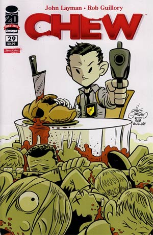 Chew #29 Cover B Incentive Chris Giarrusso Variant Cover