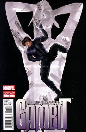 Gambit Vol 5 #2 2nd Ptg Clay Mann Variant Cover