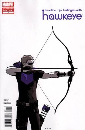Hawkeye Vol 4 #2 2nd Ptg David Aja Variant Cover