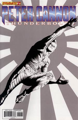 Peter Cannon Thunderbolt Vol 2 #2 Incentive Jae Lee Black & White Cover