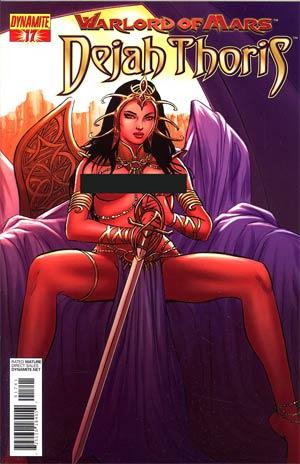 Warlord Of Mars Dejah Thoris #17 Incentive Jose Malaga Risque Art Variant Cover