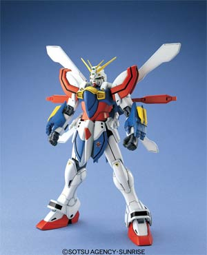Gundam Master Grade 1/100 Kit - Fighting Action - G Gundam