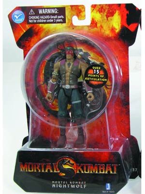 Mortal Kombat 9 Nightwolf 4-Inch Action Figure