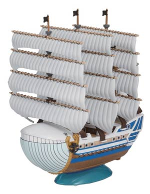 One Piece Grand Ship Collection Kit #05 Moby Dick