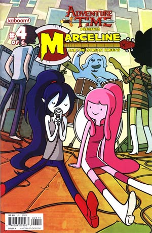 Adventure Time Marceline And The Scream Queens #4 Cover A Regular JAB Cover