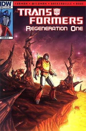 Transformers Regeneration One #84 Regular Cover A Andrew Wildman