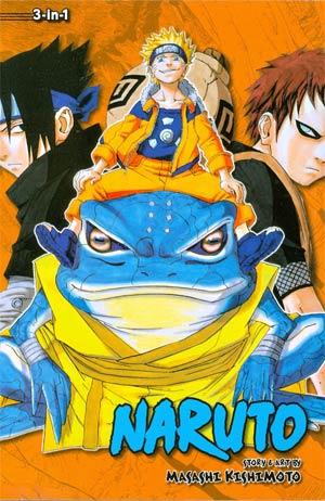 Naruto 3-In-1 Edition Vols 13 - 14 - 15 TP