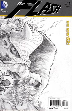 Flash Vol 4 #13 Incentive Francis Manapul Sketch Cover
