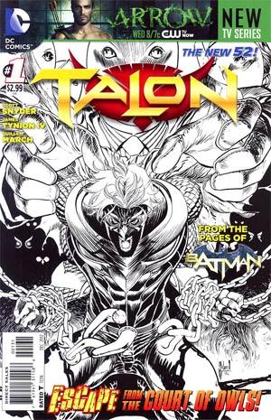 Talon #1 Incentive Guillem March Sketch Cover