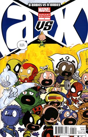 A-Babies vs X-Babies #1 Variant Chris Eliopoulos Cover