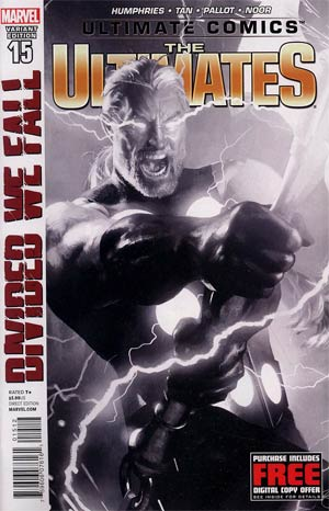 Ultimate Comics Ultimates #15 2nd Ptg Michael Komarck Variant Cover