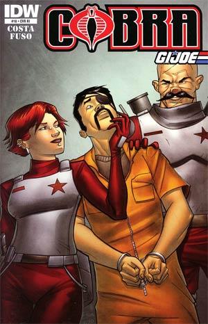Cobra #18 Incentive Joe Eisma & Juan Castro Variant Cover